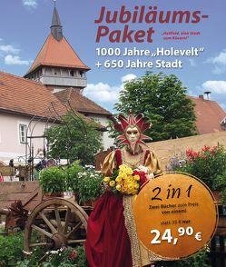 Jubiläums-Paket: 1000 Jahre Hollfeld (Holevelt) + 650 Jahre Stadt von Stadt Hollfeld