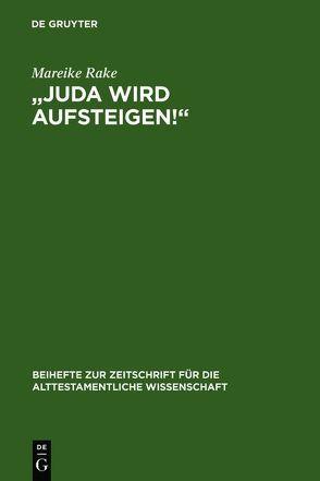 """""""Juda wird aufsteigen!"""" von Rake,  Mareike"""