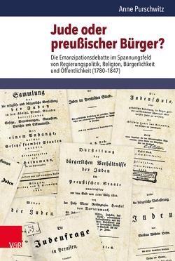 Jude oder preußischer Bürger? von Hettling,  Manfred, Nolte,  Paul, Purschwitz,  Anne