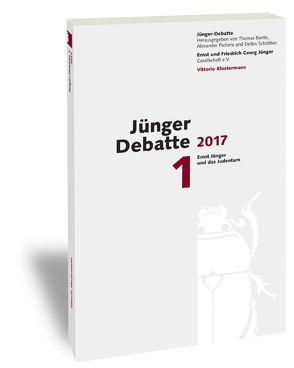 Jünger-Debatte von Bantle,  Thomas, Pschera,  Alexander, Schöttker,  Detlev