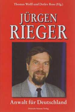 Jürgen Rieger von Rose,  Detlev