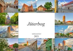 Jüterbog Impressionen (Wandkalender 2021 DIN A2 quer) von Meutzner,  Dirk