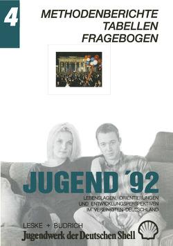 Jugend '92 von Jugendwerk der Deutschen Shell