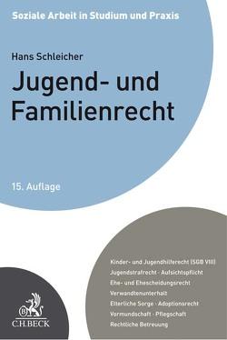 Jugend- und Familienrecht von Küppers,  Dieter, Rabe,  Annette, Schleicher,  Hans, Winkler,  Jürgen, Wußler,  Sebastian