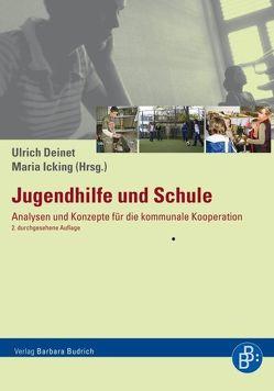 Jugendhilfe und Schule von Deinet,  Ulrich, Icking,  Maria