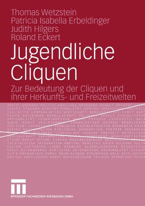 Jugendliche Cliquen von Eckert,  Roland, Erbeldinger,  Patricia Isabella, Hilgers,  Judith, Mayer,  Susanne, Wetzstein,  Thomas