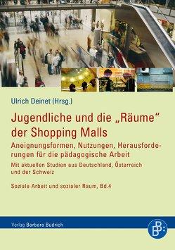 """Jugendliche und die """"Räume"""" der Shopping Malls von Deinet,  Ulrich"""