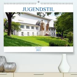 Jugendstil – Darmstadt (Premium, hochwertiger DIN A2 Wandkalender 2021, Kunstdruck in Hochglanz) von Gerstner,  Wolfgang