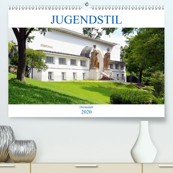 Jugendstil – Darmstadt (Premium, hochwertiger DIN A2 Wandkalender 2020, Kunstdruck in Hochglanz) von Gerstner,  Wolfgang