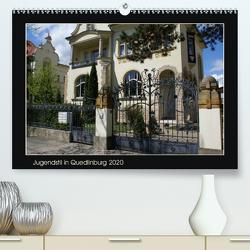Jugendstil in Quedlinburg (Premium, hochwertiger DIN A2 Wandkalender 2020, Kunstdruck in Hochglanz) von Jürgens,  Jens