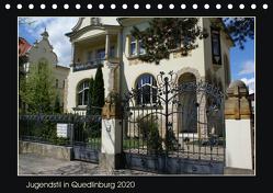 Jugendstil in Quedlinburg (Tischkalender 2020 DIN A5 quer) von Jürgens,  Jens