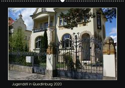 Jugendstil in Quedlinburg (Wandkalender 2020 DIN A2 quer) von Jürgens,  Jens