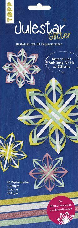 Julestar Papierstreifen-Set Glitter von Klobes,  Miriam