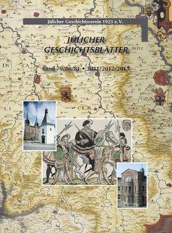Jülicher Geschichtsblätter Band 79/80/81 von von Büren,  Guido
