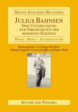 Julius Bahnsen von Heydorn,  Heinz J, Heydorn,  Irmgard, Kappner,  Hartmut, Koneffke,  Gernot, Weick,  Edgar