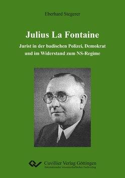 Julius La Fontaine von Stegerer,  Eberhard