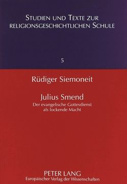 Julius Smend von Siemoneit,  Rüdiger