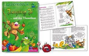 Jumping Jo und das Chamäleon von Brösele,  Jo