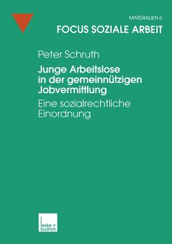 Junge Arbeitslose in der gemeinnützigen Jobvermittlung von Schruth,  Peter