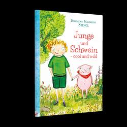 Junge und Schwein- cool und wild von Stengl,  Dominique Magdalene