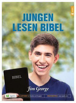 Jungen lesen Bibel von George,  Jim