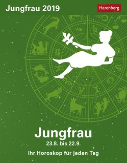 Jungfrau – Kalender 2019 von Harenberg, Satorius,  Robert