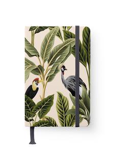 Jungle 10×15 cm – GreenLine Journal – 176 Seiten, Punktraster und blanko – Hardcover – gebunden