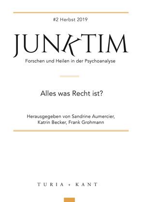 Junktim #2 von Aumercier,  Sandrine, Becker,  Katrin, Grohmann,  Frank