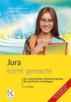Jura – leicht gemacht von Hassenpflug,  Helwig, Hauptmann,  Peter-Helge, Schwind,  Hans-Dieter