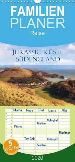 Jurassic Küste – Südengland – Familienplaner hoch (Wandkalender 2020 , 21 cm x 45 cm, hoch) von Kruse,  Joana