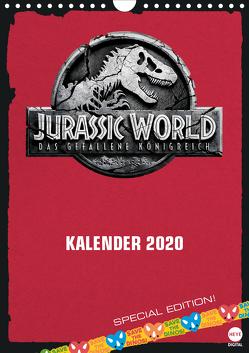 Jurassic World (Wandkalender 2020 DIN A4 hoch) von Digital,  Heye