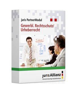 juris PartnerModul Gewerblicher Rechtsschutz / Urheberrecht von jurisAllianz