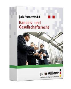 juris PartnerModul Handels- und Gesellschaftsrecht von jurisAllianz