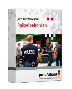 juris PartnerModul Polizeibehörden von jurisAllianz
