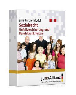 juris PartnerModul Sozialrecht Unfallversicherung und Berufskrankheiten von jurisAllianz