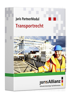 juris PartnerModul Transportrecht von jurisAllianz