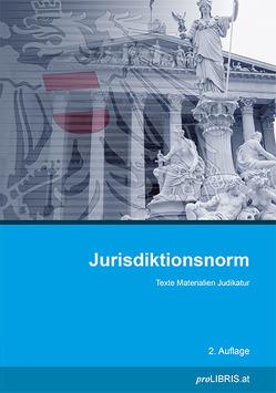 Jurisdiktionsnorm von proLIBRIS VerlagsgesmbH