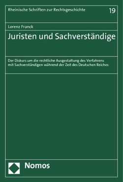 Juristen und Sachverständige von Franck,  Lorenz