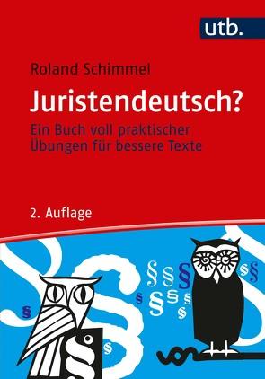 Juristendeutsch? von Schimmel,  Roland