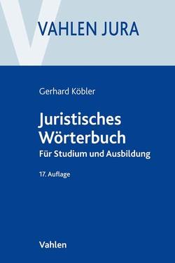 Juristisches Wörterbuch von Köbler,  Gerhard