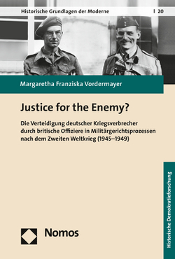 Justice for the Enemy? von Vordermayer,  Margaretha Franziska