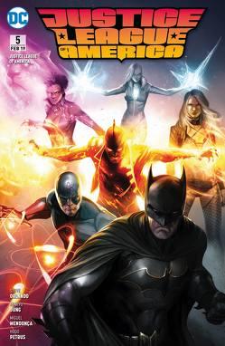 Justice League of America von Heiss,  Christian, Mendonça,  Miguel, Orlando,  Steve, Petrus,  Hugo