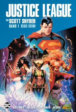Justice League von Scott Snyder (Deluxe-Edition) von Snyder,  Scott