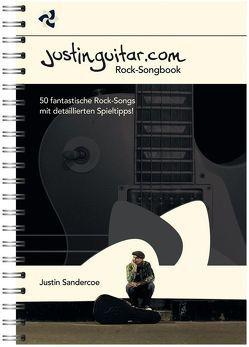 Justinguitar.com Rock-Songbook von Bosworth Music, Sandercoe,  Justin