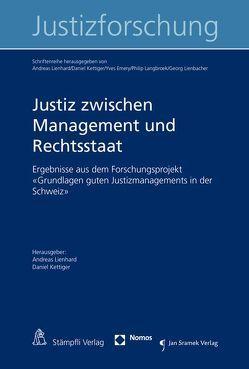 Justiz zwischen Management und Rechtsstaat von Kettiger,  Daniel, Lienhard,  Andreas