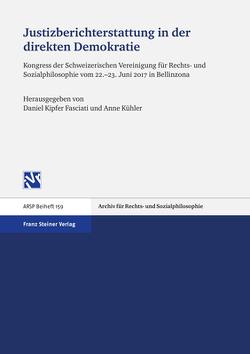 Justizberichterstattung in der direkten Demokratie von Kipfer Fasciati,  Daniel, Kühler,  Anne