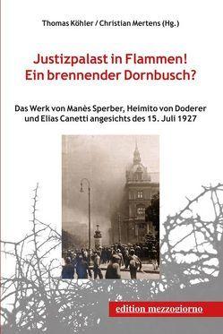 Justizpalast in Flammen! Ein brennender Dornbusch? von Fischer,  Heinz, Köhler,  Thomas, Mertens,  Christian