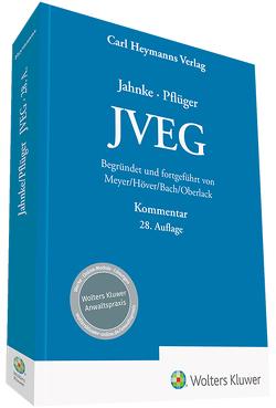 JVEG von Bach,  Wolfgang, Höver,  Albert, Meyer,  Paul, Oberlack,  Henning