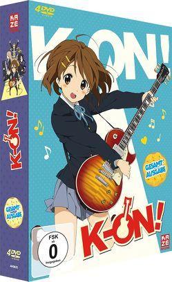 K-ON! – 1. Staffel – Gesamtausgabe (4 DVDs) von Yamada,  Naoko
