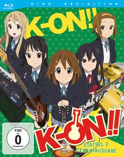 K-ON! – 2. Staffel – Gesamtausgabe (3 Blu-rays) von Yamada,  Naoko